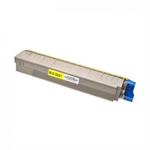Toner OKI C8600 / C8800 / 43487709 rumen kompatibilen