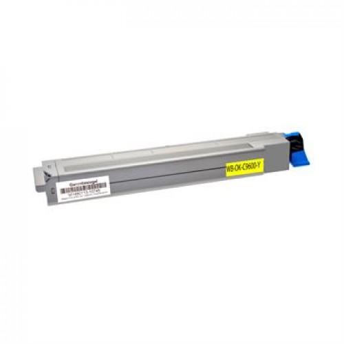 Toner OKI C9600 / 42918913 rumen kompatibilen