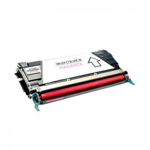 Toner Lexmark C736 / C736H2MG škrlatna kompatibilen