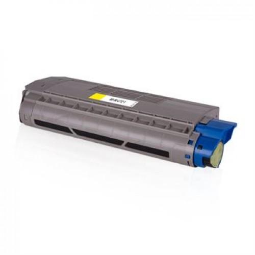 Toner OKI C712 46507613 XL rumen kompatibilen